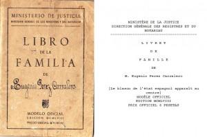 Traducción jurada libro de familia