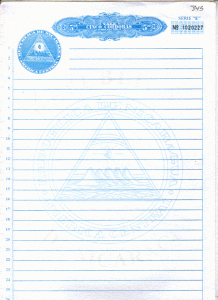 Escrituras notariales
